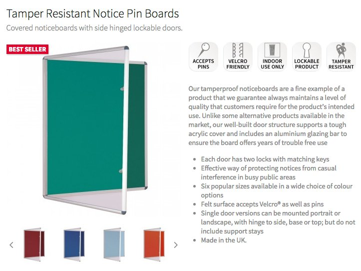 Keep your notices safe with our tamper resistant product:  http://www. red17.co.uk/lockable-notic eboards.html &nbsp; …  #practical #safe #innovative<br>http://pic.twitter.com/CFBmmjZOms