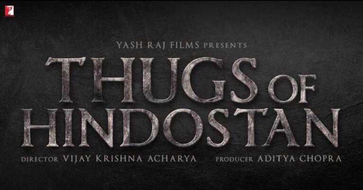 #ThugsOfHindostan  first look #AamirKhan #AmitabhBachchan #KatrinaKaif #YashRaj #Bollywood  <br>http://pic.twitter.com/0N9hi1JUAX