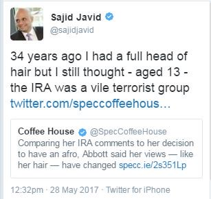 34 years ago I had no hair or body as I wasn't alive, but I still knew, in my separate sperm/egg potentiate that IRA were vile terrorists