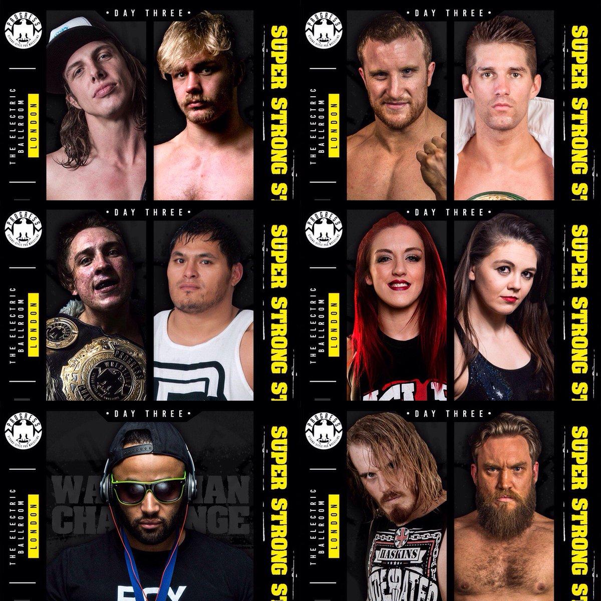 Resultados de Progress Wrestling Super Strong Style 16: Día 2 — Primera monarca de la empresa 6