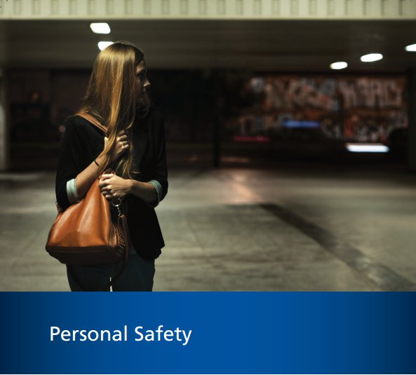Arriving to or leaving work, home or other place, remember safety tips...