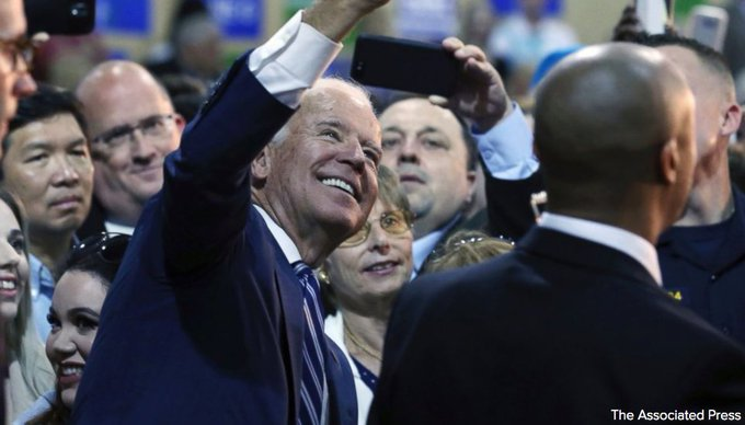 Former Vice President Joe Biden says New Jersey governor's race is most important in the country. https://t.co/uMZnvyKP4E