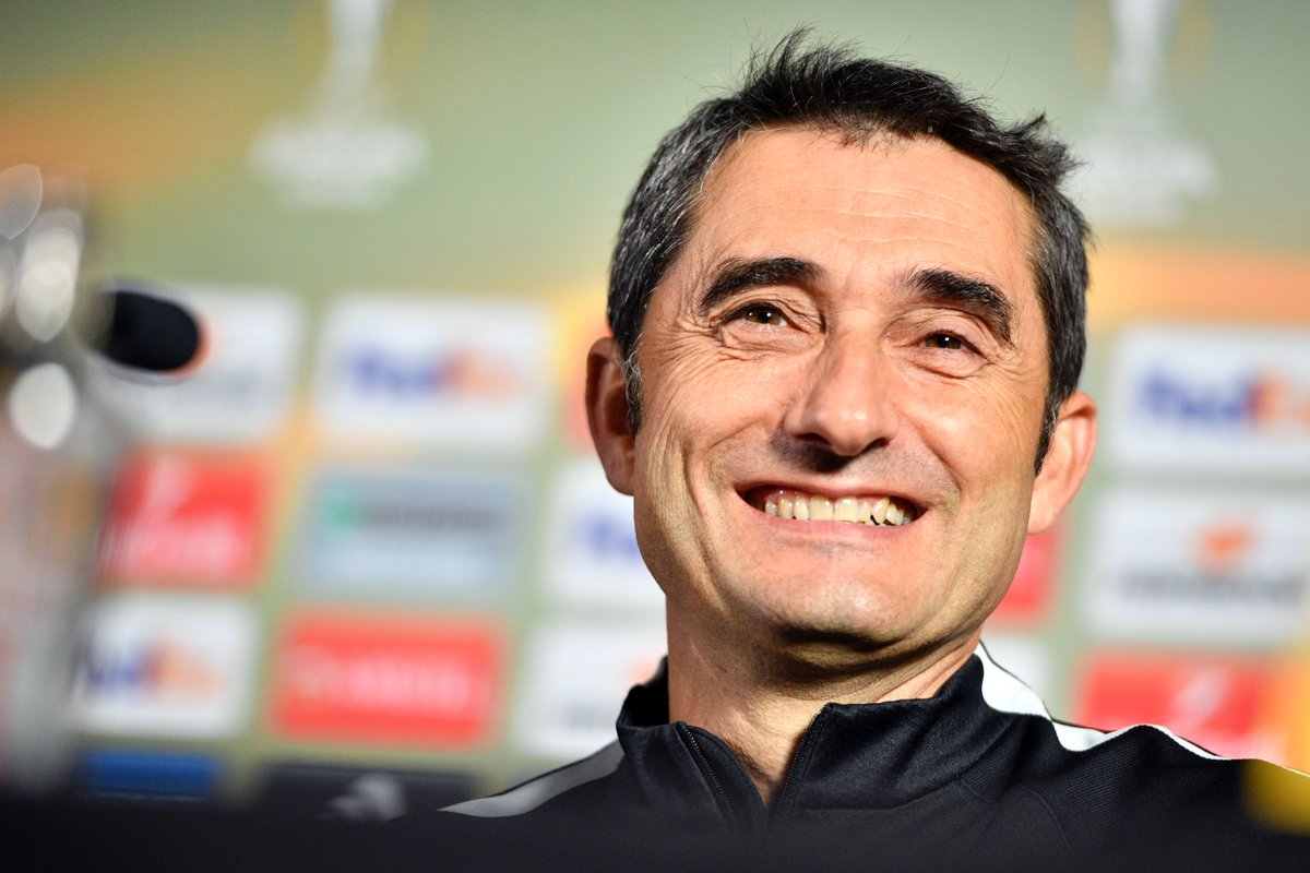 Ernesto Valverde is set to be confirmed as Barcelona's new manager on...