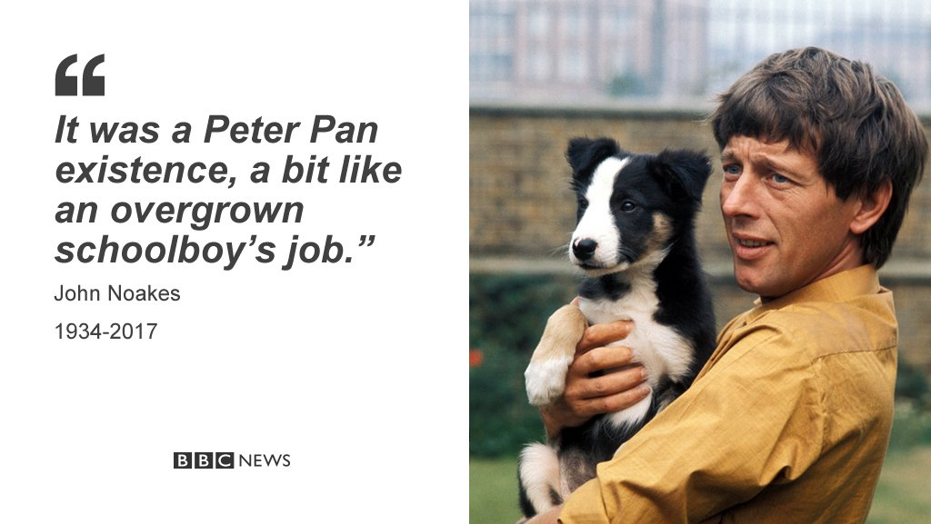 RIP Blue Peter presenter John Noakes https://t.co/sT1K0QDC8F https://t...
