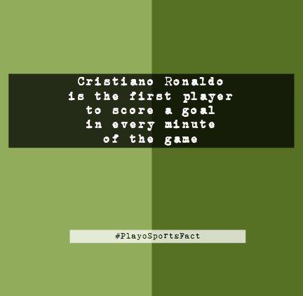 How Awesome can he be? @Cristiano #playosportsfact #cristianoronaldo @Squawka @SK_Football @sportbible @sportstarweb @Sportsfactorysa<br>http://pic.twitter.com/F5SZOxYyY6