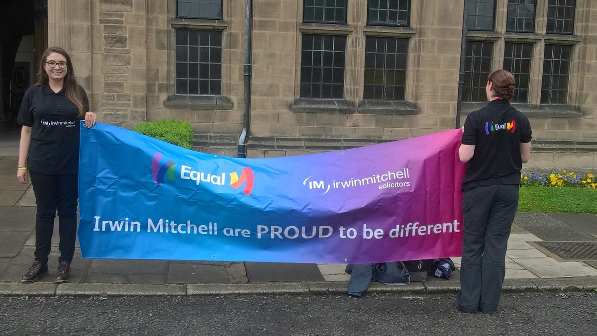 #IMEqual all set for @Durham_Pride parade @irwinmitchell #Newcastle @Community_IM Excited for the day ahead! #ProudToBeDifferent #Equality <br>http://pic.twitter.com/Azr7OKW5I3