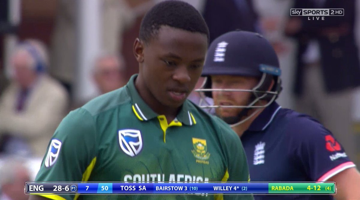 No wicket taken in over 7! England still 28-6!  Live on Sky Sports 2 H...
