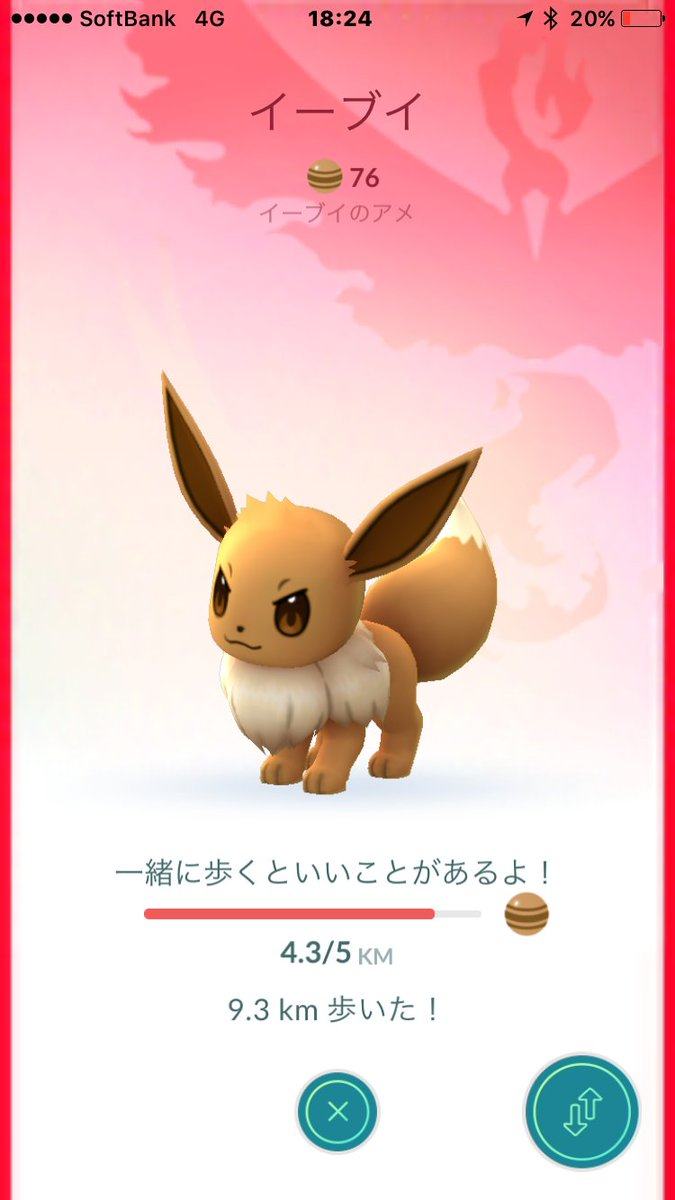 """gⷢoⷪtⷮhꙹ a twitter: """"#ポケモンgoどうでいいtips 相棒ポケモンの"""