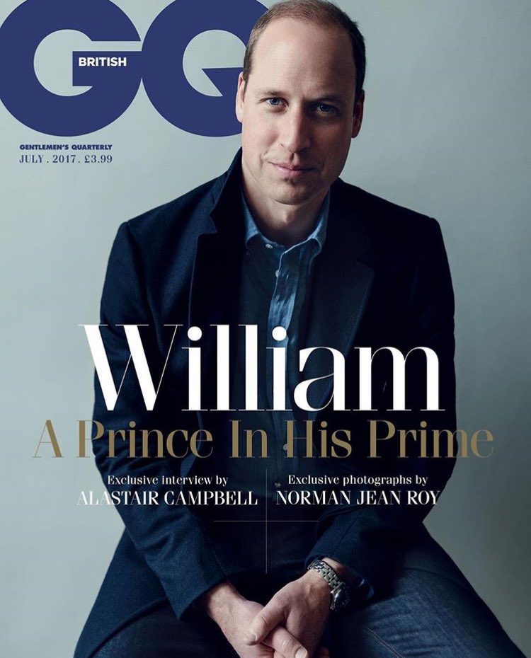 A Prince In His Prime: Prince William, The Duke Of Cambridge stylishly graces the front cover of July&#39;s @BritishGQ  #Mensfashion #mensstyle <br>http://pic.twitter.com/MqNrjlJKBy