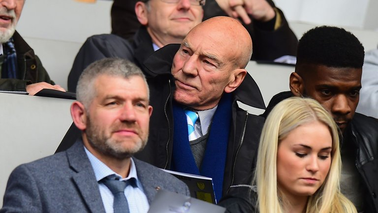 Sir Patrick Stewart on David Wagner and his love for @htafcdotcom: htt...