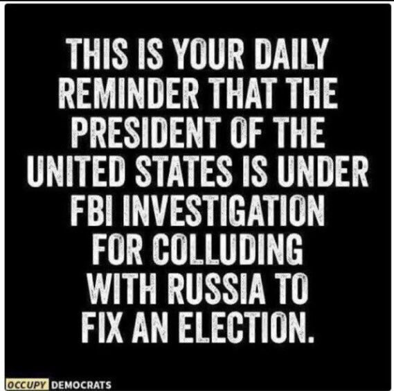 #NewDay Trump was elected while under investigation by FBI. But we weren&#39;t allowed to know. <br>http://pic.twitter.com/OyXIWlGjMn