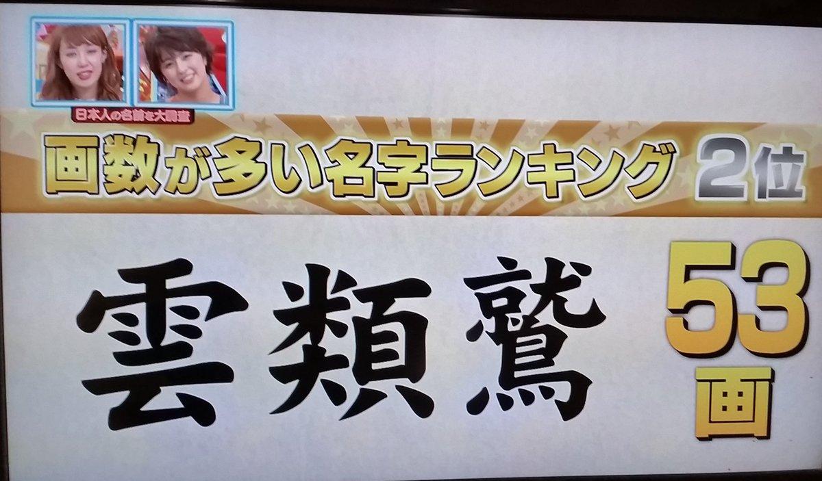 マイネームshow hashtag on Twit...