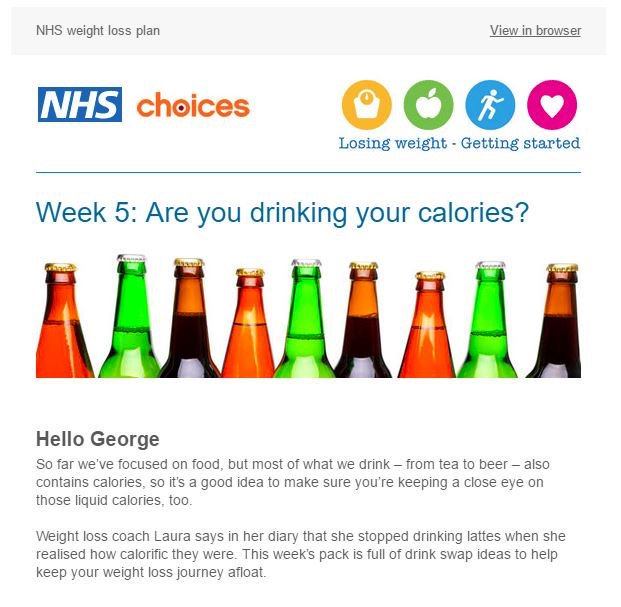 Sign up for 12 weekly emails to support you as you progress through the NHS Choices weight loss plan: https://t.co/VXAOHeIwwU