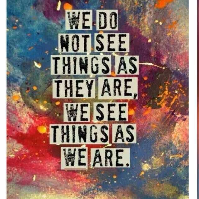 Things are not always as they  seem to be.  #Inspiration #MondayMotiva...