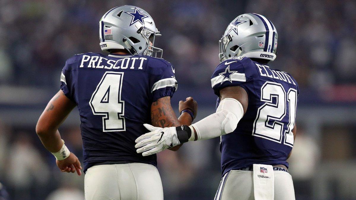 News: Prescott and Elliott Ready To Compete For Super Bowl? https://t....