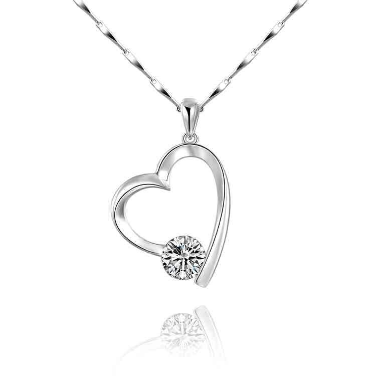 #Silver Plated Cubic #Zirconia #Heart #Pendant Necklace http:// ebay.co.uk/itm/1623945819 94 &nbsp; …  #UkBizLunch #Londonislovinit #ATSocialMedia #bizitalk #sbutd<br>http://pic.twitter.com/zeFvdqbBKv