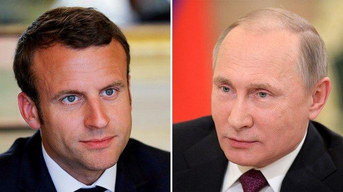 Emmanuel #Macron : «Beaucoup de problèmes internationaux ne peuvent être résolus sans la #Russie» https://t.co/FshQ5i0VBE
