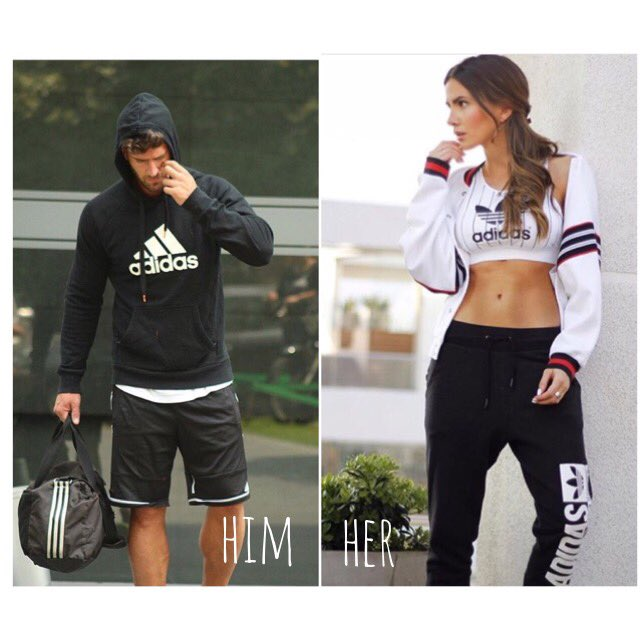 outfit adidas: HIM @valentin_benet  HER @aylenmilla  #HIMandHERstyle  #moda #style #woman #man #adidas @adidasCL<br>http://pic.twitter.com/MTx7yQ3ZKt