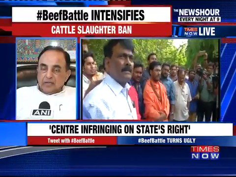 Subramanian Swamy says Sonia Gandhi must apologise to the people of the country. #BeefBattle