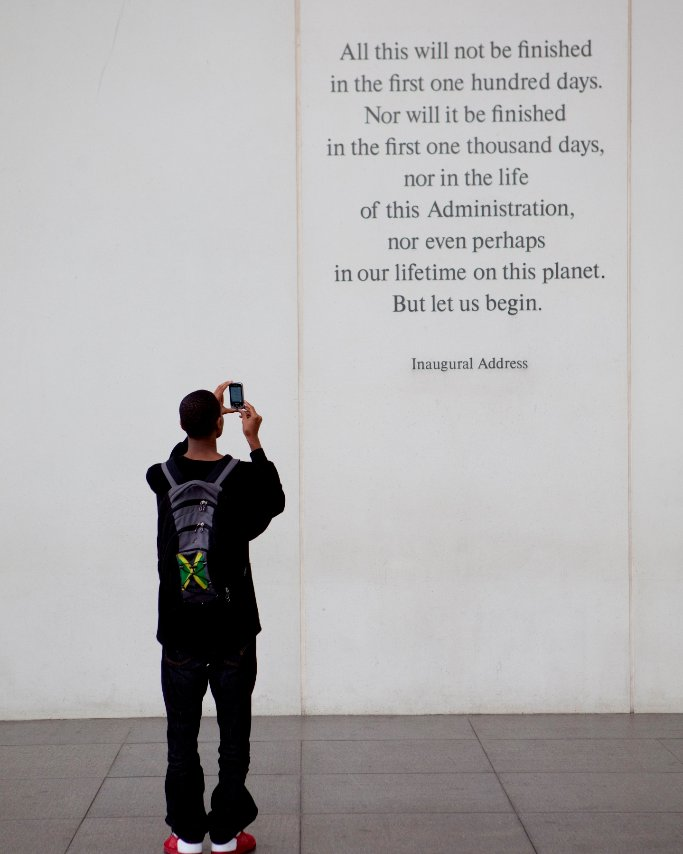 """All this will not be finished in the first one hundred days... but let us begin."" #MondayMotivation #JFK100 https://t.co/lxa3SfTd5W"