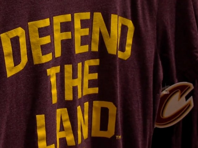 Get your gear on to #DefendtheLand! The hottest #Cavs T-shirts from Cleveland stores https://t.co/02LSpM7TsC