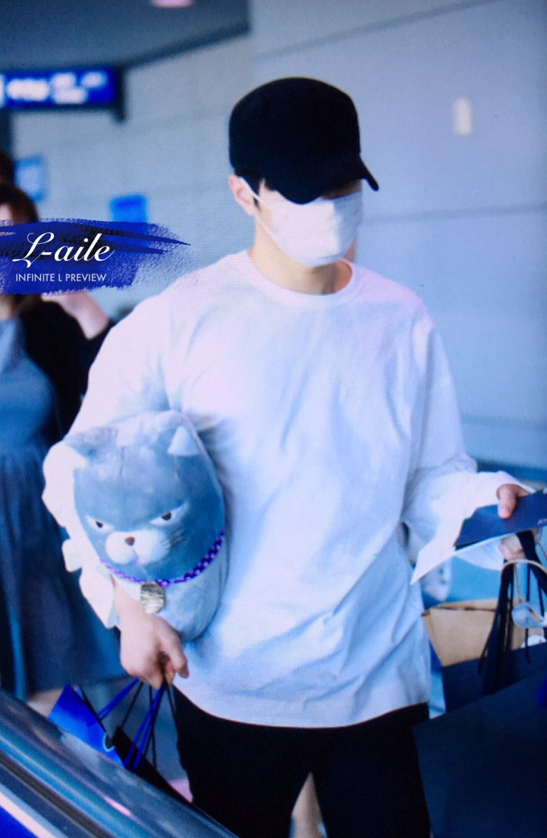 [FANTAKEN]​ 170529 Incheon Airport - Safely Arrived - #인피니트 Myungsoo #엘 #명수 #L [©L_aile_com] <br>http://pic.twitter.com/q8N2DIJ8wm