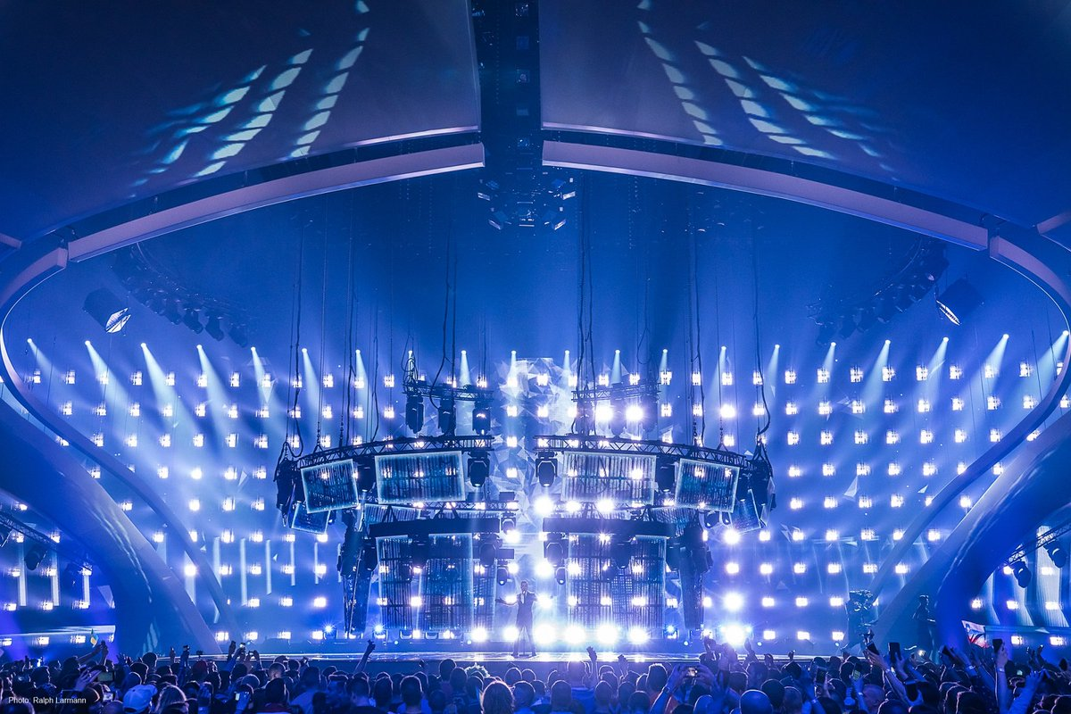 Over 350 #Paladin fixtures were featured on the 2017 #Eurovision with a TV audience of over 200 million. Read more:  https:// goo.gl/n8wD5h  &nbsp;  <br>http://pic.twitter.com/rIqVhVLr7U