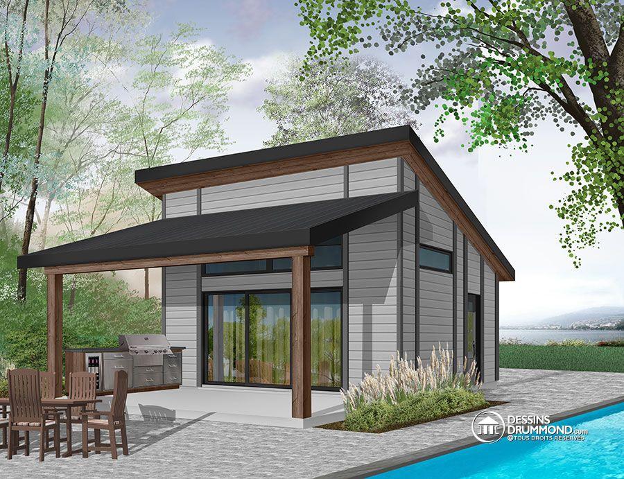 Plan exterieur maison plan de maison de plainpied de for Plan exterieur maison