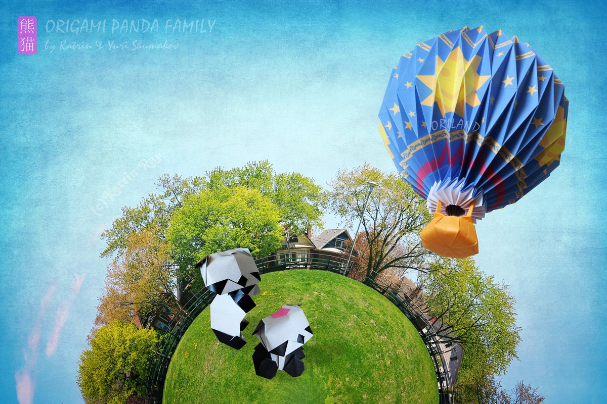 Happy #Panda Monday!  Origami pandas &amp; Montgolfier Balloon :-) Diags&gt;  http://www. oriland.com/store/ebooks/o rigami_panda_family/main.php &nbsp; …  &gt;  http://www. oriland.com/store/ebooks/o riland_balloon_ride/main.php &nbsp; …  #origami #paper #art<br>http://pic.twitter.com/pA4BiViwp8