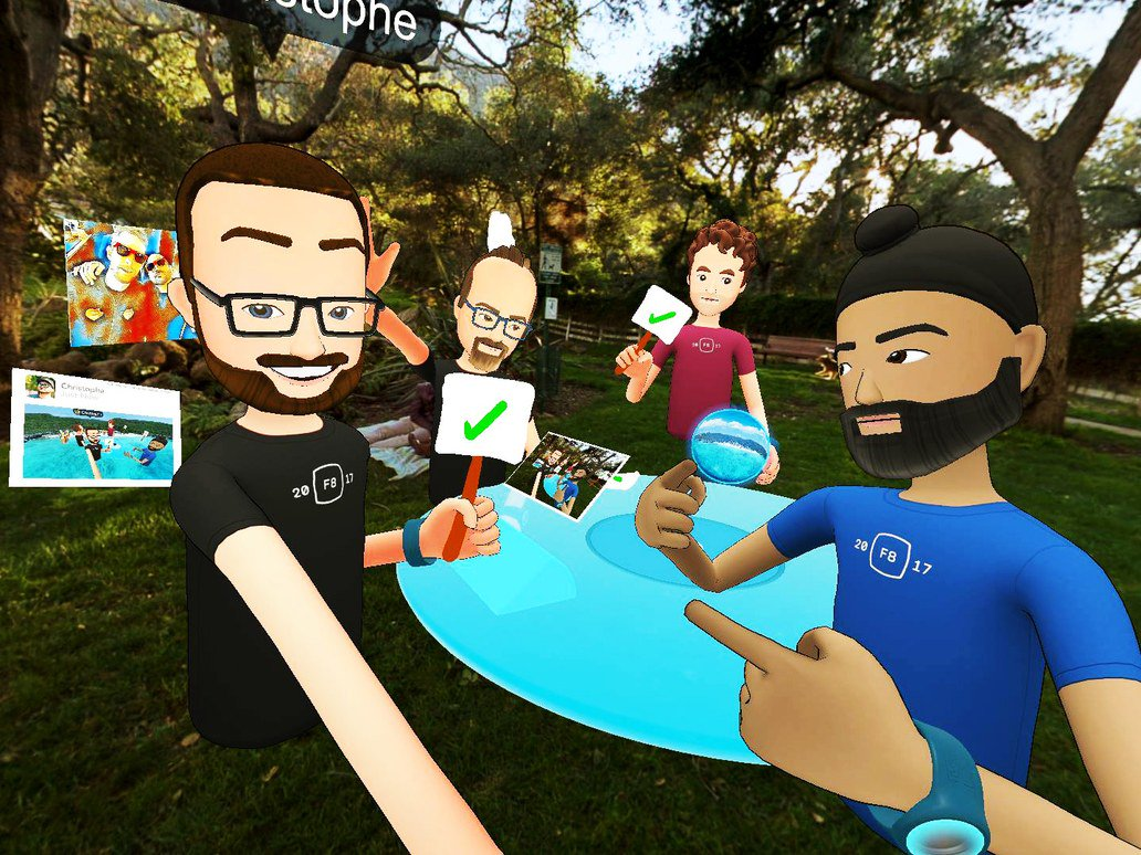 #Facebook's new #app, Spaces, is here to help you hang out in #virtual #reality #vr #gamedev #indiedev #indiegame  http:// rite.ly/jCcg  &nbsp;  <br>http://pic.twitter.com/cAasiUiLYf