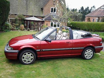 eBay: 1995 ROVER 214 CABRIOLET RED   #classiccars #cars