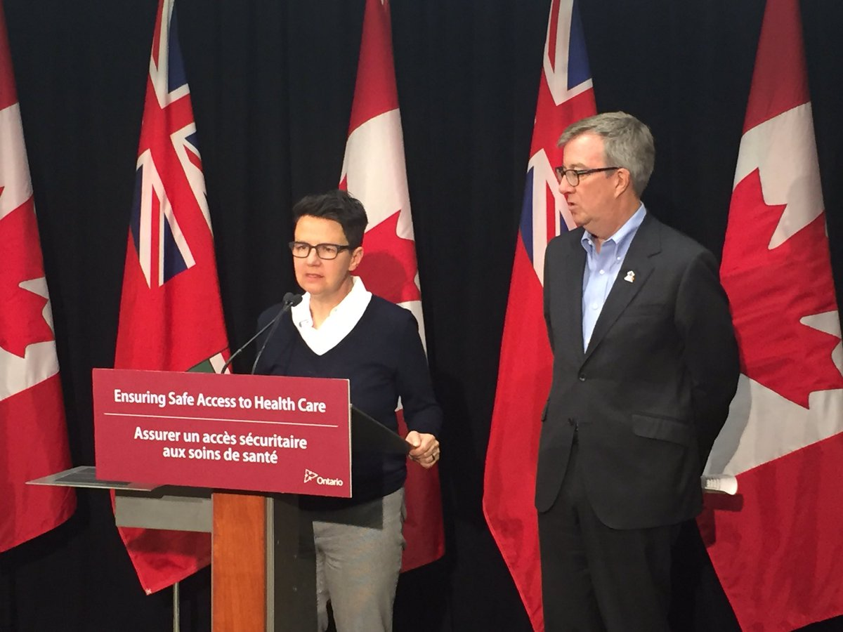 Honoured to be with  @Yasir_Naqvi &amp; @JimWatsonOttawa for safe access to health care announcement. #womenshealth  #somerset #ottcity #ottawa<br>http://pic.twitter.com/1bdRTkGqi9