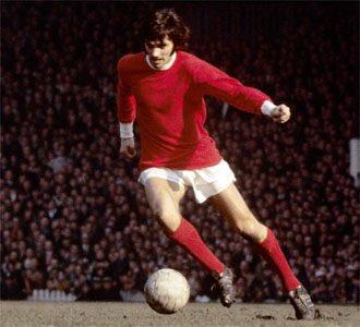 "\""Pelè good, Maradona better, George Best.\"" 22.05.1946 Happy Birthday"