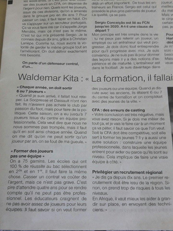 Waldemar Kita parlant formation. #fcnantes pic.twitter.com/5t0JZFbRha