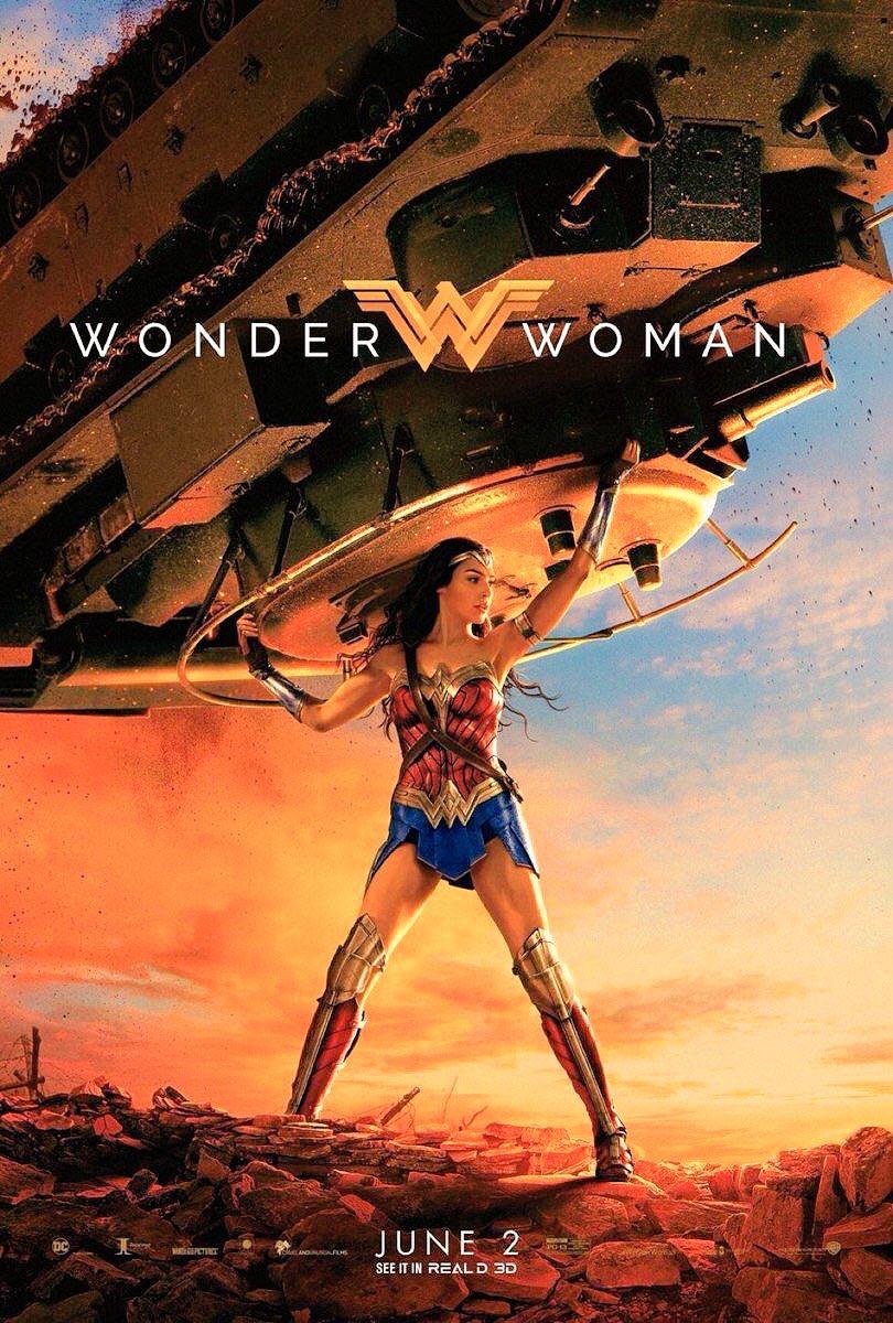 #WonderWoman Nuevo póster promocional