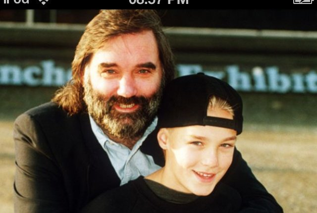 Happy Birthday to the late great George Best and Father to this cheeky chap