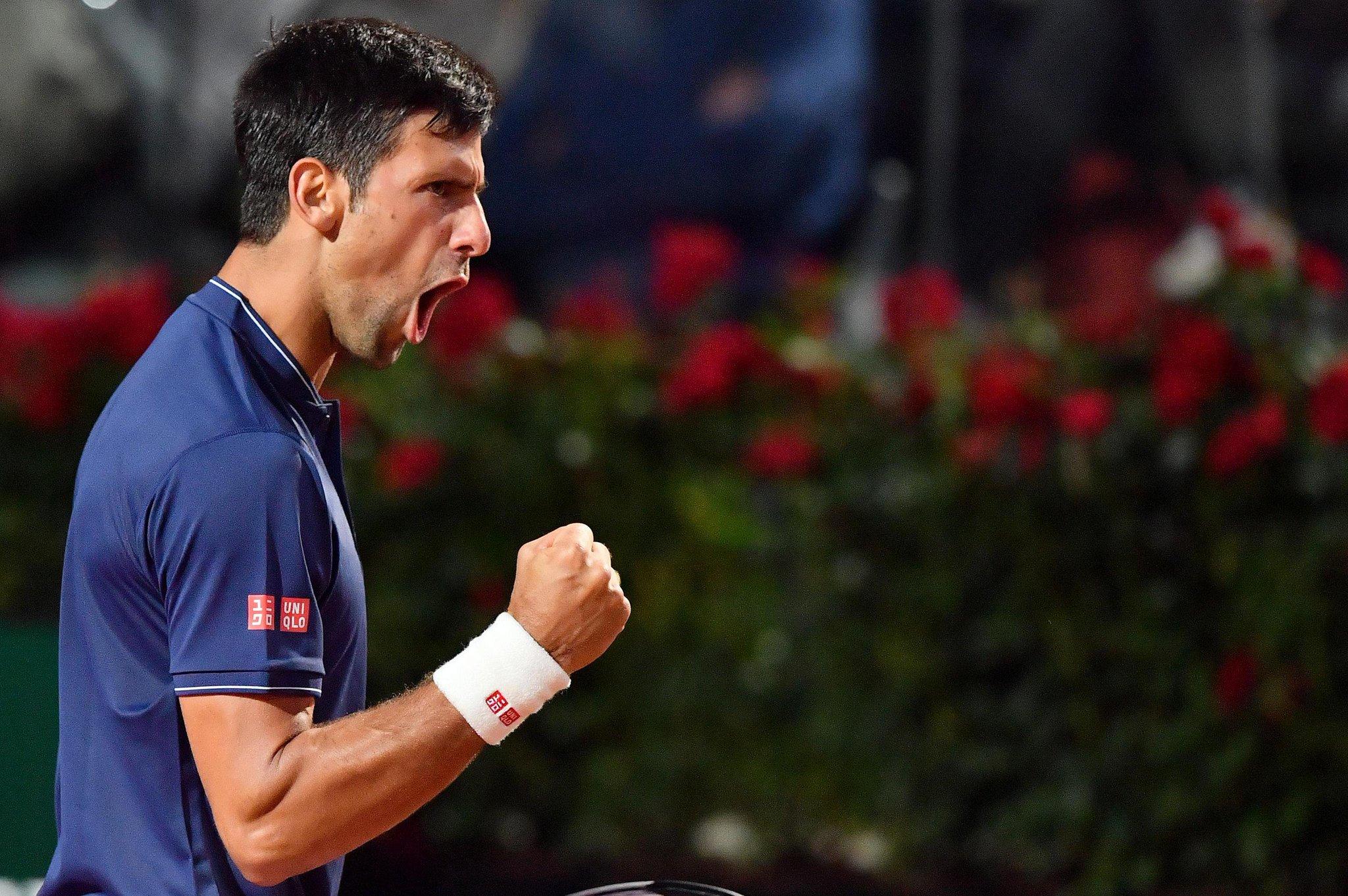 Novak turns 30 today. Happy birthday to Rome runner-up!