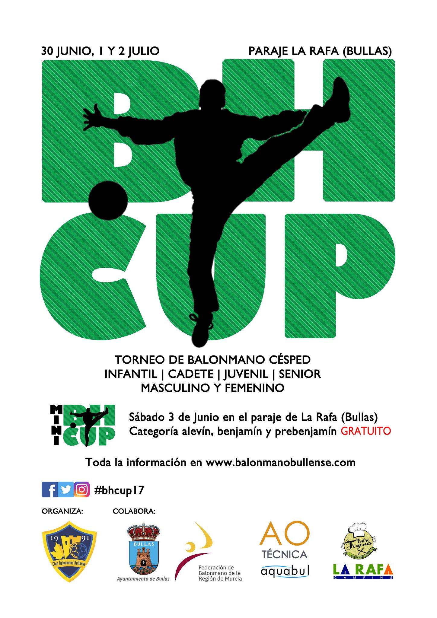 Cartel de la Bullas Handball Cup