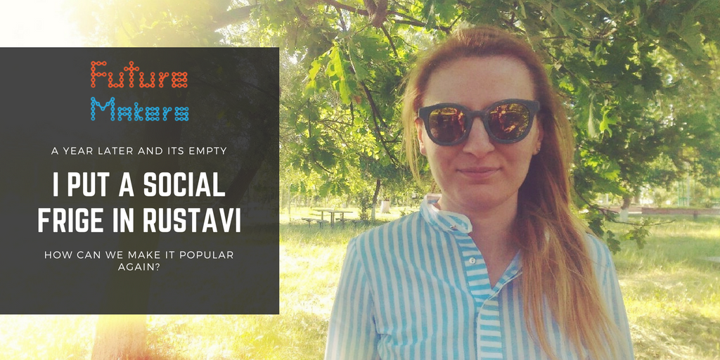 How can you popularize a #socialfridge? #Rustavi wants to know! #community #sharing #sharingisscaring  #socialinnovation #futuremakers<br>http://pic.twitter.com/R8dCMi4KKw