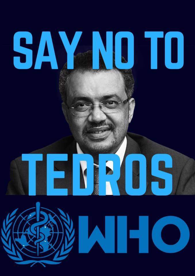 Tedros Adhanom regime killed thousands of its citizens even last year. He&#39;s corrupt and criminal&#39;!  #No2Tedros4WHO #WHO #WHODG<br>http://pic.twitter.com/fko9bHucSs