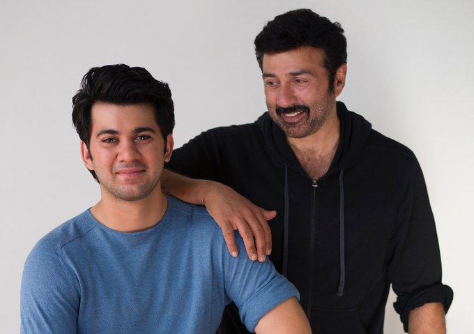 Started #palpaldilkepaas .. Karan's first day at shoot.. can't get enough.. my boy has grown big #love #actor #life https://t.co/yf2kyAZFr4