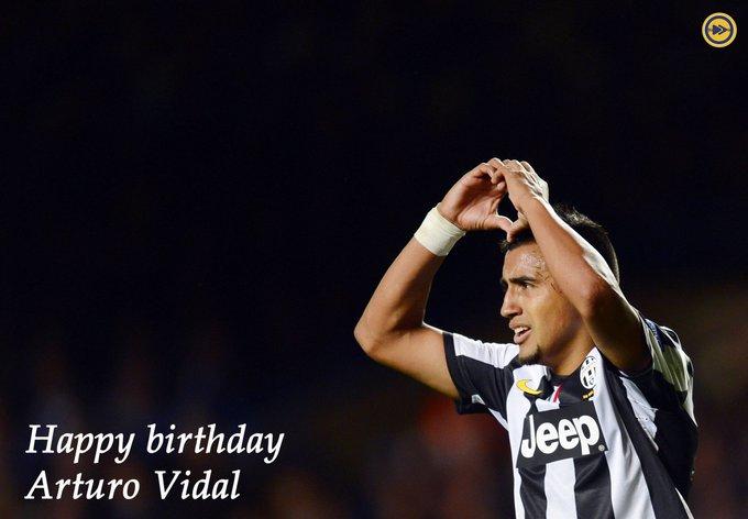 Happy birthday to Arturo Vidal!!!