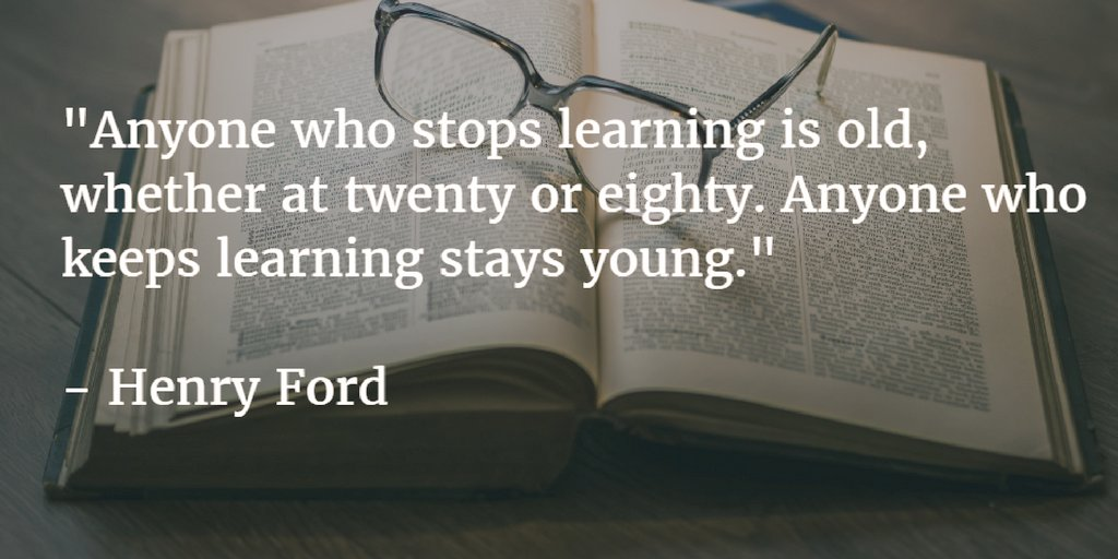 Never. Stop. Learning. #MondayMotivaton with @millioncenters  #Learn #Grow #Dream #Believe #Goals #MotivationalQuotes #quote #life #hustle<br>http://pic.twitter.com/LR0SZejP1U