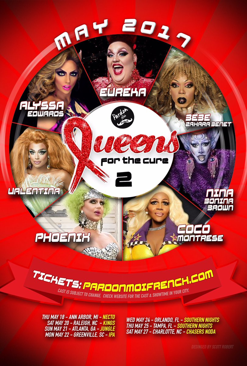 I will be joining the Queens For A Cure tour in select cities 💕 https:...