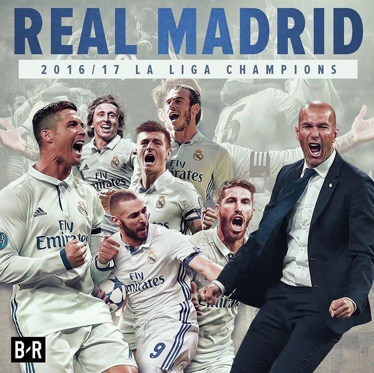 LaLiga CHAMPIONS  WE ARE THE CHAMPIONS  #33Ligas #RealMadrid #HalaMadrid #Zidane #CristianoRonaldo #Ramos #Benzema #Bale #Modric #Kroos<br>http://pic.twitter.com/6f00fBSlgb