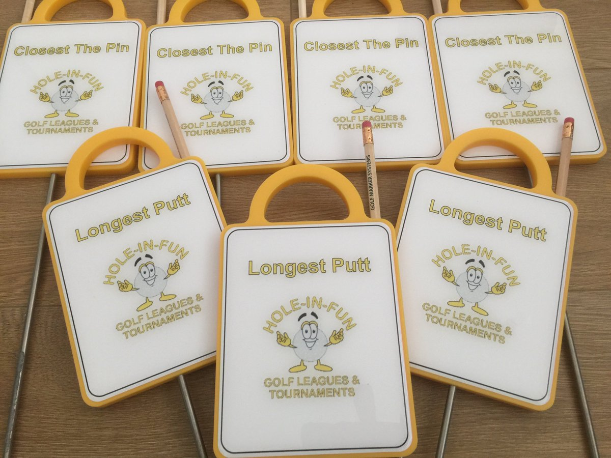 Part of a golf society?  Get your own set of custom markers for when your on your rounds!  #waterproof #bespoke<br>http://pic.twitter.com/Zxgb9aqxcr