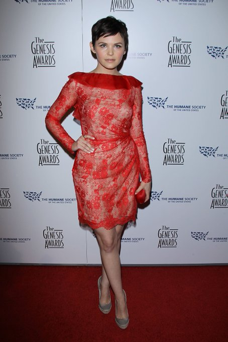 Happy 39th Birthday to the Incomparable Ginnifer Goodwin!