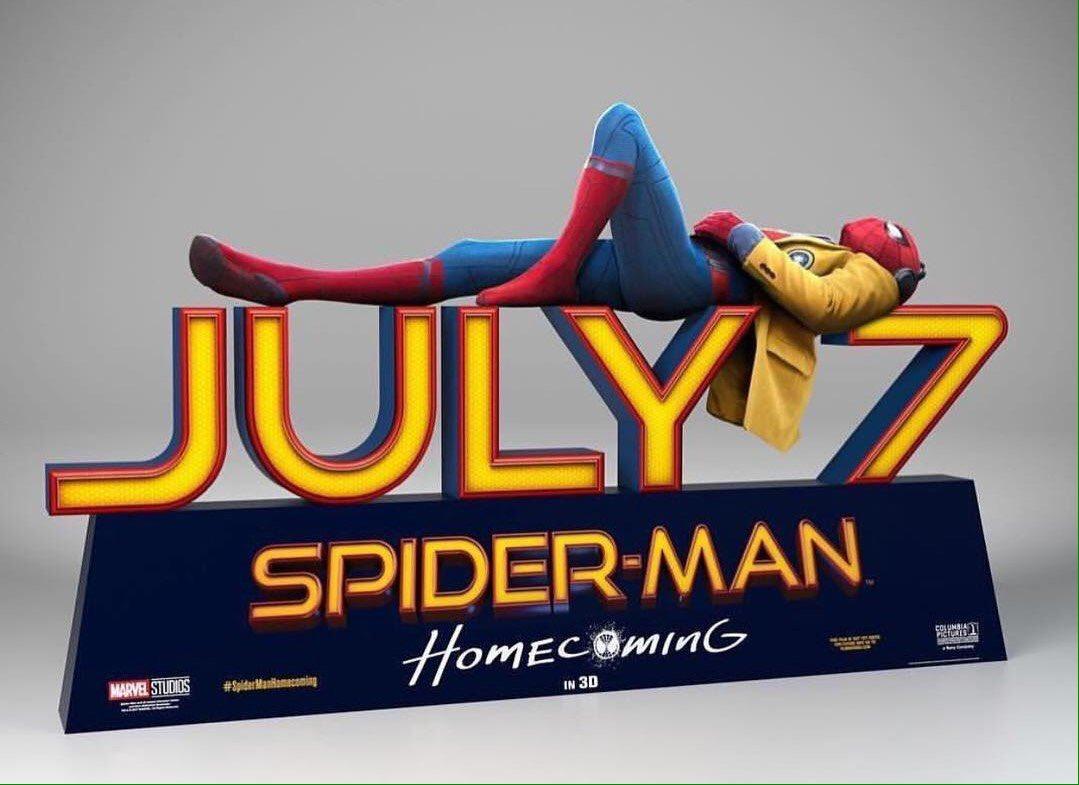 #SpiderManHomecoming  El hombre araña empieza muy bien la semana