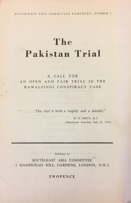 test Twitter Media - Today @britishlibrary: Prof Kamran Asdar Ali on Of Communists & Conspiracy:  The Rawalpindi Case in Pakistan https://t.co/3OYPM4CBPz https://t.co/eqPqlBIFoF