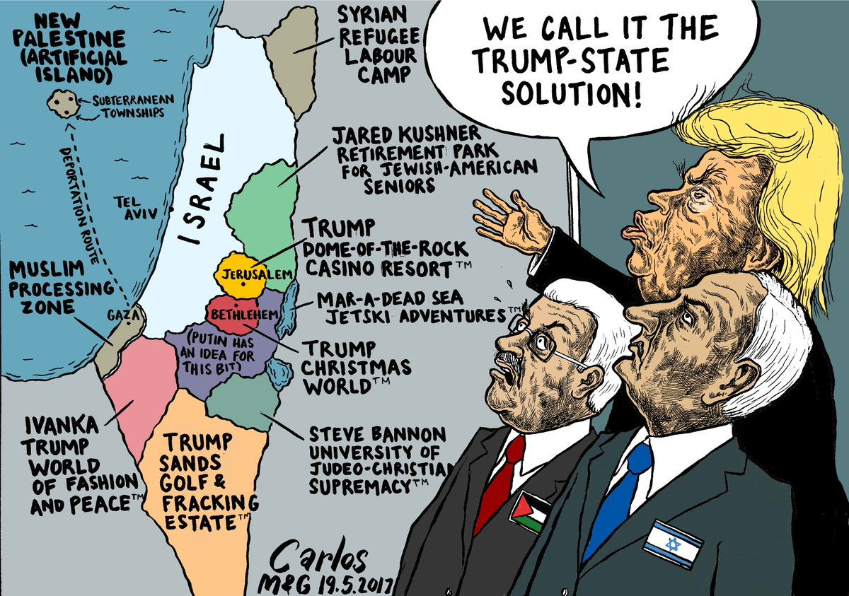 Image result for trump mid-east peace plan cartoon